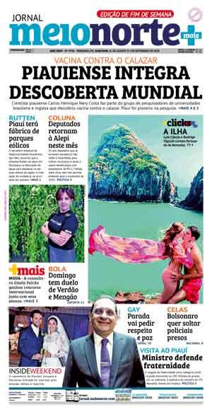 Jornal Meio Norte do dia 31-08-2019