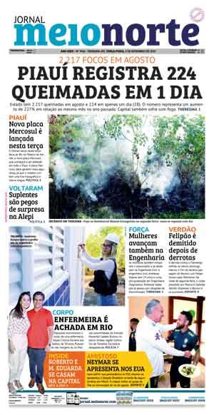 Jornal Meio Norte do dia 3-09-2019