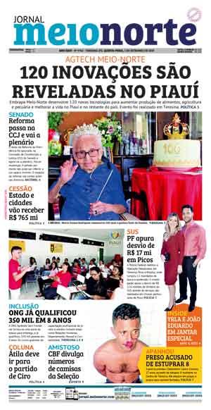 Jornal Meio Norte do dia 5-09-2019