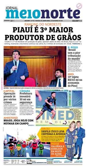 Jornal Meio Norte do dia 6-09-2019