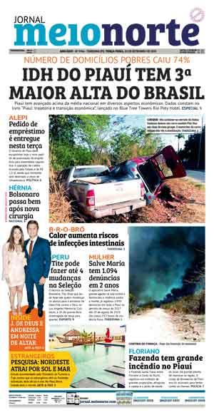 Jornal Meio Norte do dia 10-09-2019
