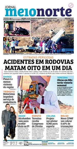 Jornal Meio Norte do dia 11-09-2019