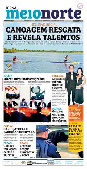 Jornal Meio Norte do dia 12-09-2019