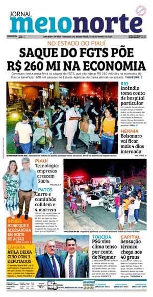 Jornal Meio Norte do dia 13-09-2019