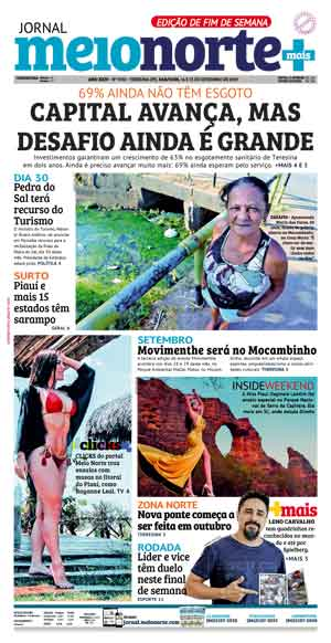 Jornal Meio Norte do dia 14-09-2019