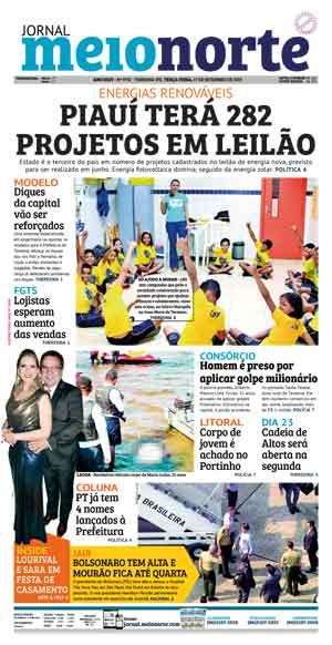 Jornal Meio Norte do dia 17-09-2019