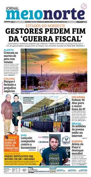 Jornal Meio Norte do dia 18-09-2019