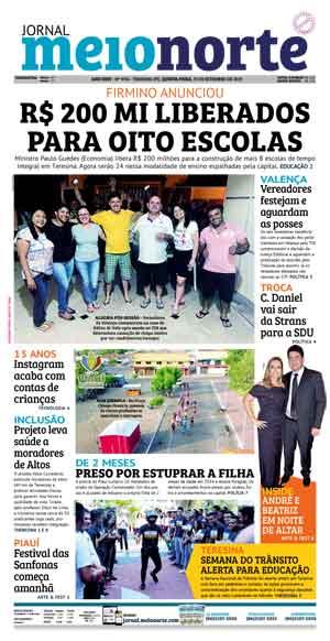 Jornal Meio Norte do dia 19-09-2019