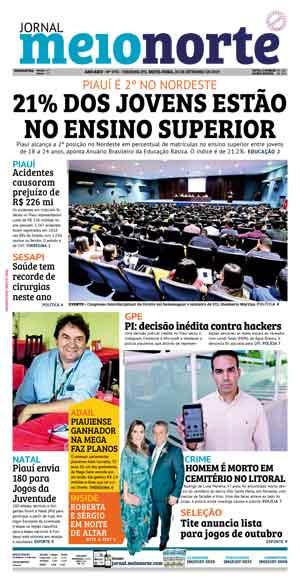 Jornal Meio Norte do dia 20-09-2019