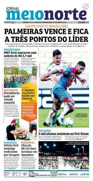 Jornal Meio Norte do dia 23-09-2019