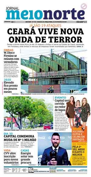 Jornal Meio Norte do dia 24-09-2019