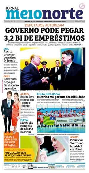 Jornal Meio Norte do dia 25-09-2019