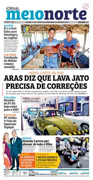 Jornal Meio Norte do dia 26-09-2019