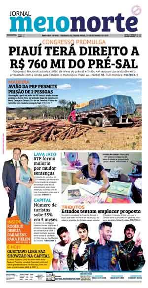 Jornal Meio Norte do dia 27-09-2019