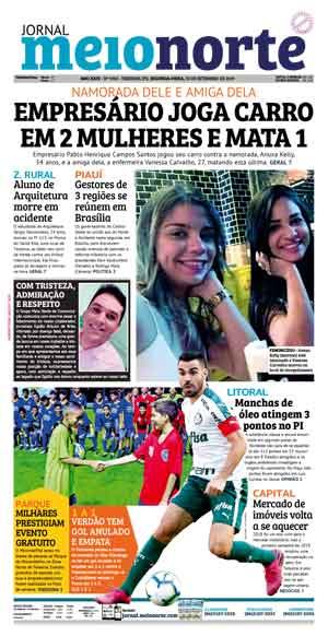 Jornal Meio Norte do dia 30-09-2019