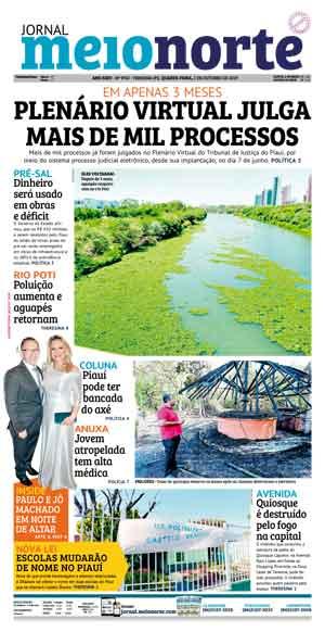Jornal Meio Norte do dia 2-10-2019