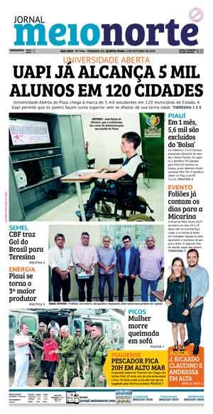 Jornal Meio Norte do dia 3-10-2019