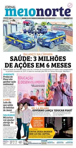 Jornal Meio Norte do dia 4-10-2019