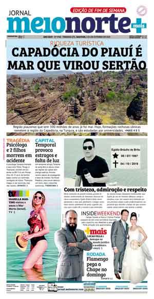 Jornal Meio Norte do dia 6-10-2019