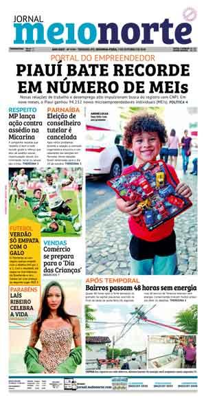 Jornal Meio Norte do dia 7-10-2019