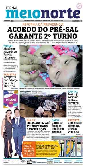 Jornal Meio Norte do dia 9-10-2019