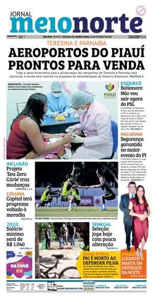 Jornal Meio Norte do dia 24-06-2018