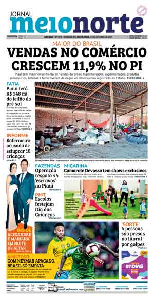 Jornal Meio Norte do dia 11-10-2019