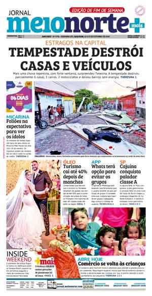 Jornal Meio Norte do dia 12-10-2019