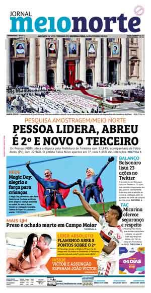 Jornal Meio Norte do dia 14-10-2019