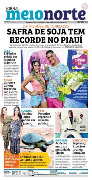 Jornal Meio Norte do dia 15-10-2019