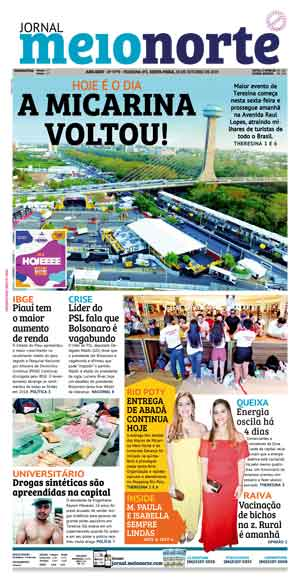 Jornal Meio Norte do dia 18-10-2019