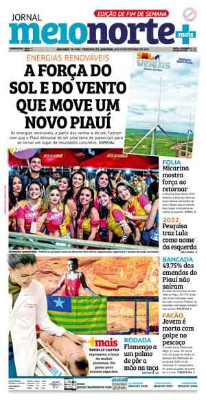 Jornal Meio Norte do dia 30-04-2007