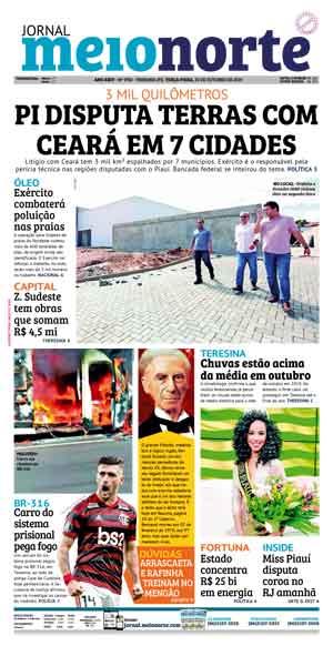 Jornal Meio Norte do dia 22-10-2019