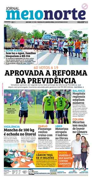 Jornal Meio Norte do dia 23-10-2019