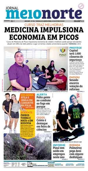 Jornal Meio Norte do dia 24-10-2019