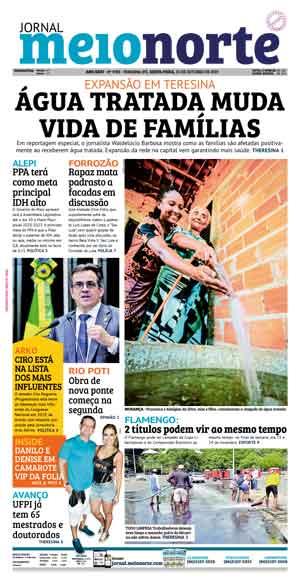 Jornal Meio Norte do dia 25-10-2019