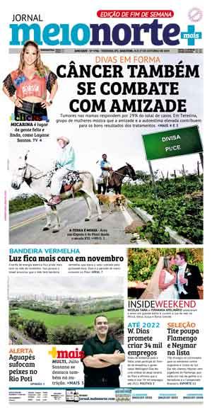 Jornal Meio Norte do dia 26-10-2019