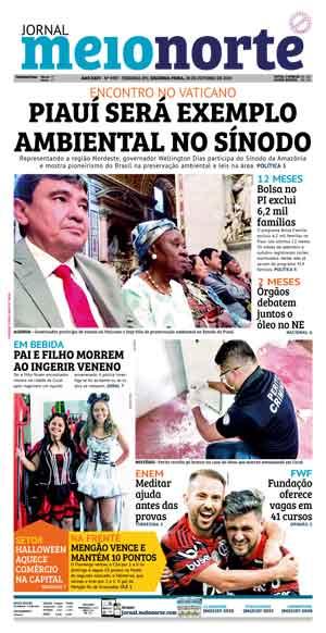 Jornal Meio Norte do dia 28-10-2019