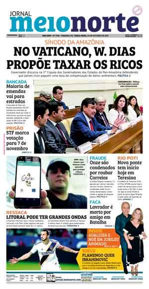 Jornal Meio Norte do dia 29-10-2019