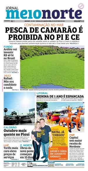 Jornal Meio Norte do dia 30-10-2019