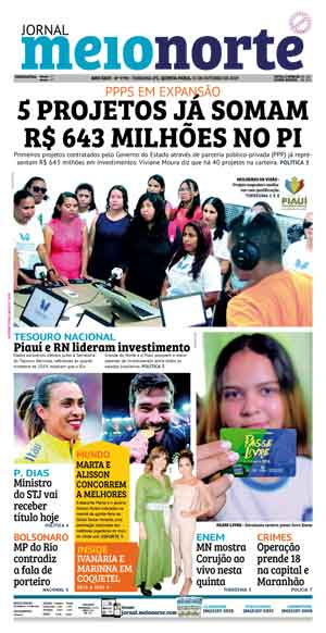 Jornal Meio Norte do dia 31-10-2019