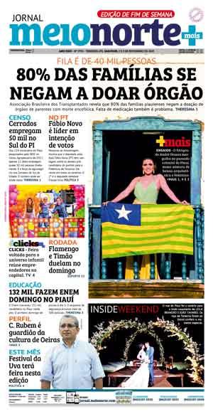 Jornal Meio Norte do dia 2-11-2019