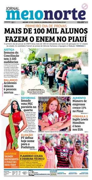 Jornal Meio Norte do dia 4-11-2019