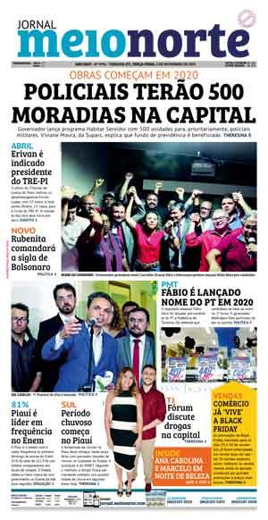 Jornal Meio Norte do dia 5-11-2019
