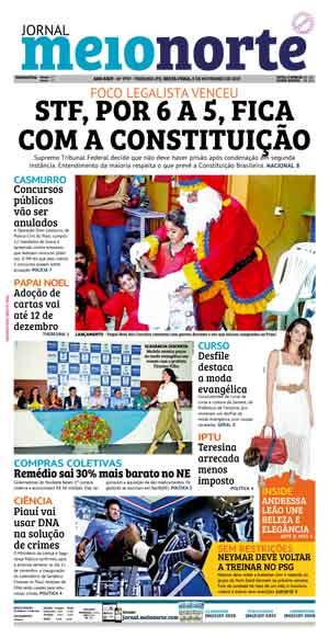 Jornal Meio Norte do dia 8-11-2019