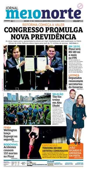 Jornal Meio Norte do dia 13-11-2019