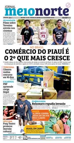 Jornal Meio Norte do dia 14-11-2019