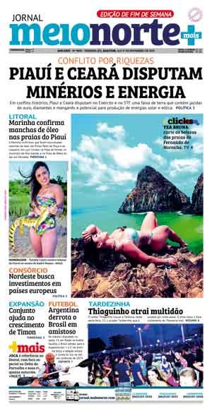 Jornal Meio Norte do dia 16-11-2019
