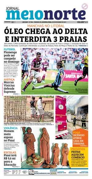Jornal Meio Norte do dia 18-11-2019
