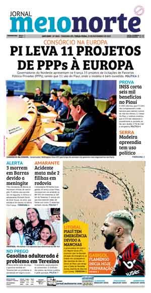 Jornal Meio Norte do dia 19-11-2019